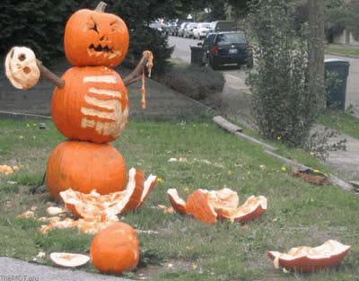 "This is what happens when you Google ""pumpkin rampage"""